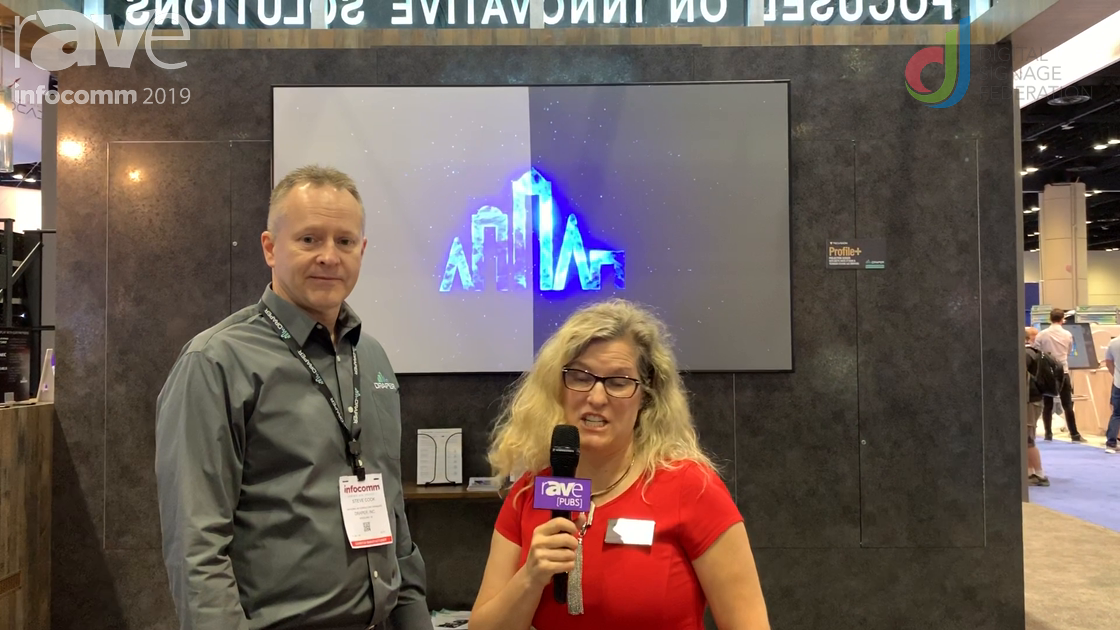 InfoComm 2019: Laura Davis-Taylor Talks with Draper About Value in Projection Screen Technology
