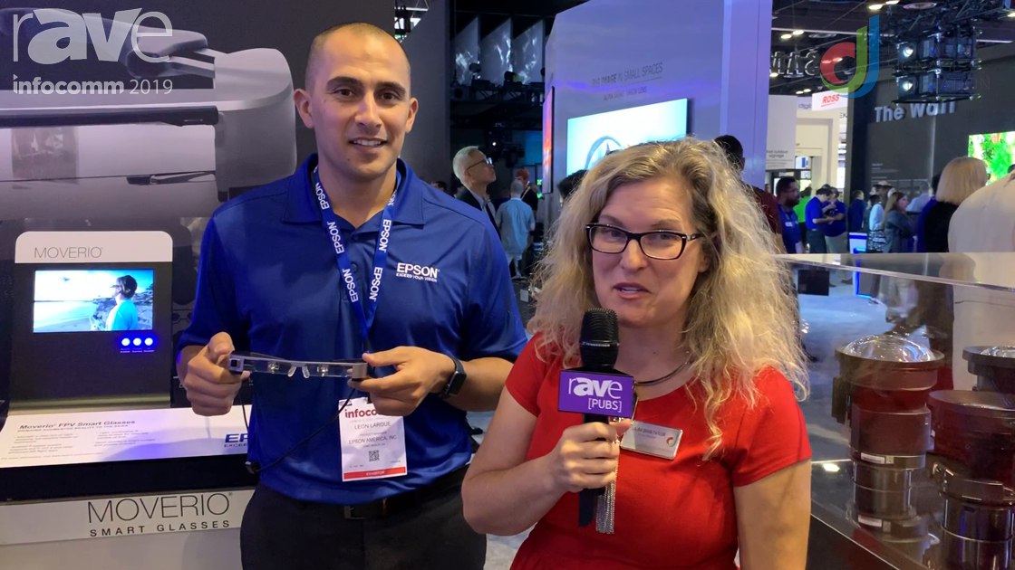 InfoComm 2019: Laura Davis-Taylor Discusses Moverio With Epson