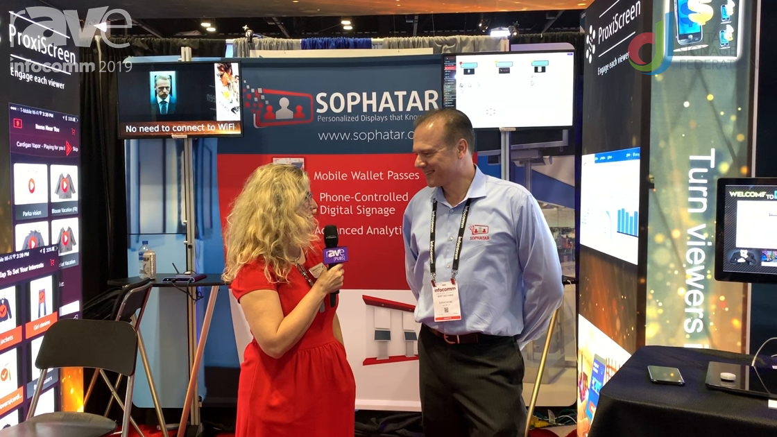 InfoComm 2019: Sophatar Gives Overview of InfoComm Presence with Laura Davis-Taylor