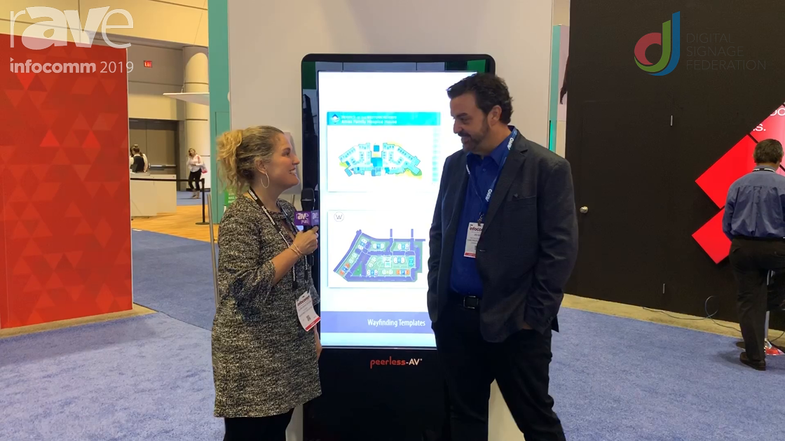 InfoComm 2019: Laura Davis-Taylor Discusses Digital Signage Content with Jim Nista of Almo Pro AV