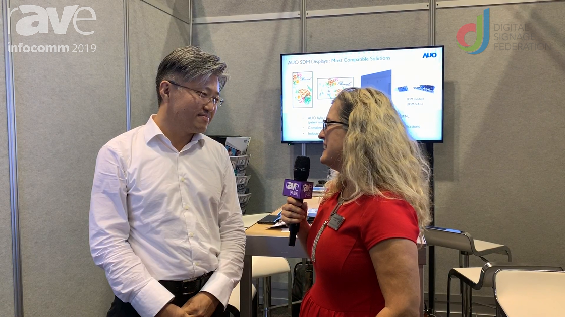 InfoComm 2019: Laura Davis-Taylor Speaks with AUO About SDM Display Ecosystem