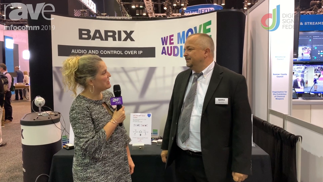 InfoComm 2019: Barix Highlights AV-over-IP Solutions with Laura Davis-Taylor