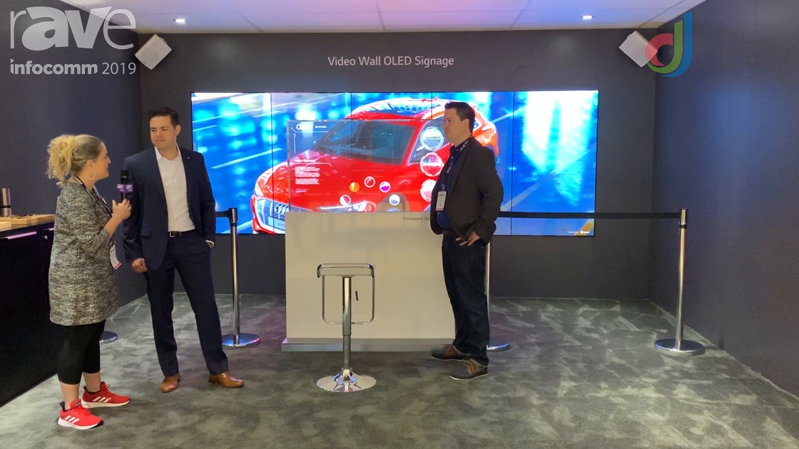 InfoComm 2019: LG Shows Laura Davis-Taylor Its Transparent OLED in Auto Showroom Demo