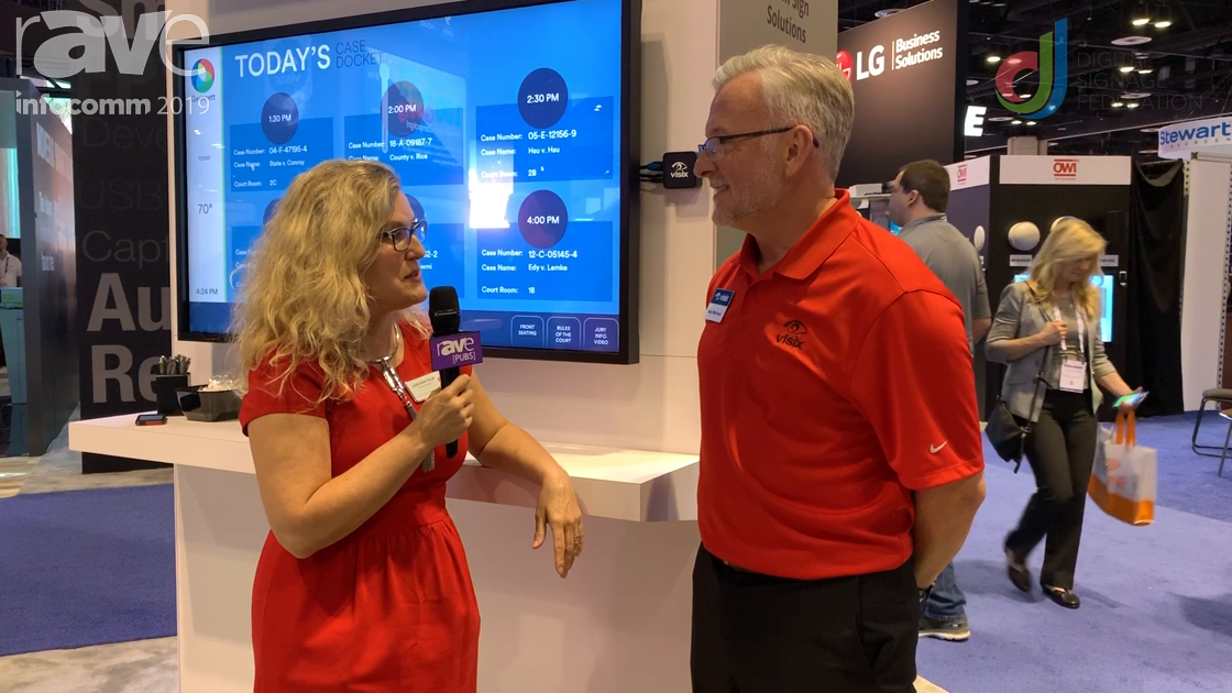InfoComm 2019: Visix Talks Voice-Activated Wayfinding with Laura Davis-Taylor
