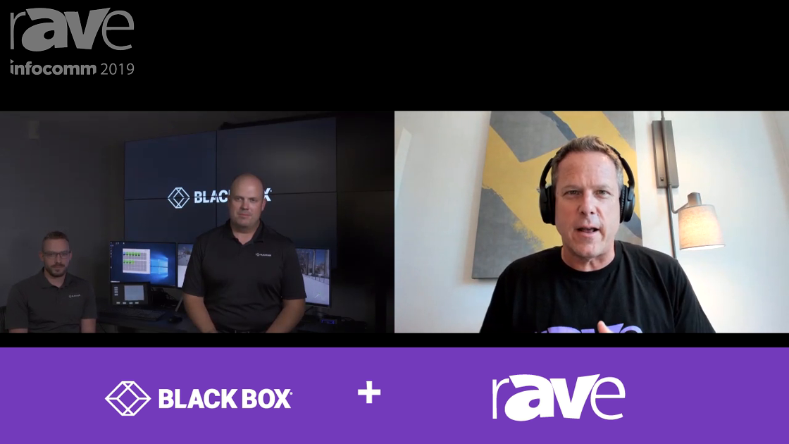 InfoComm 2019: Black Box Delivers Real-Time Video Demo of MCX