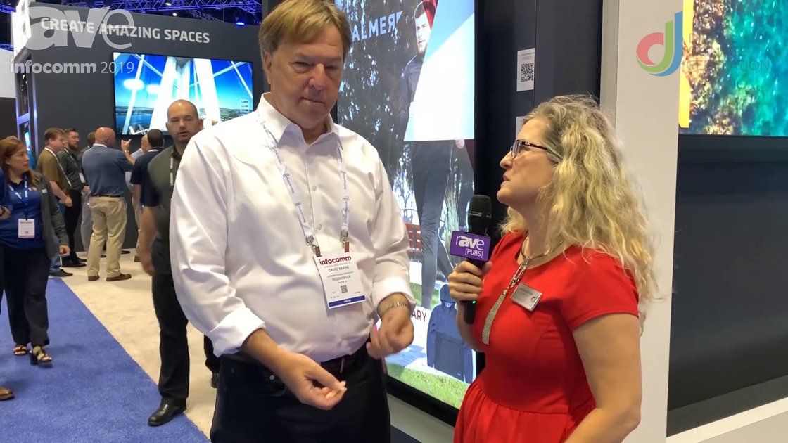 InfoComm 2019:  Laura Davis-Taylor Catches Up with David Keene