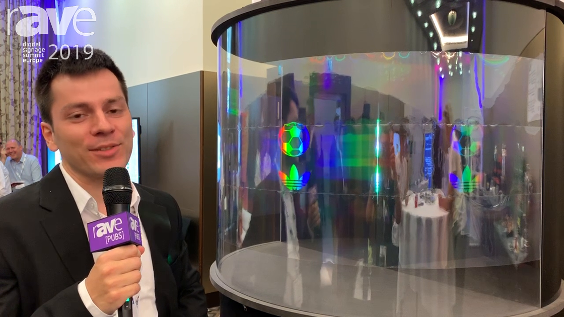 DSSE 2019: APIC BEAM Shows Off Its 360-Degree Holographic Display