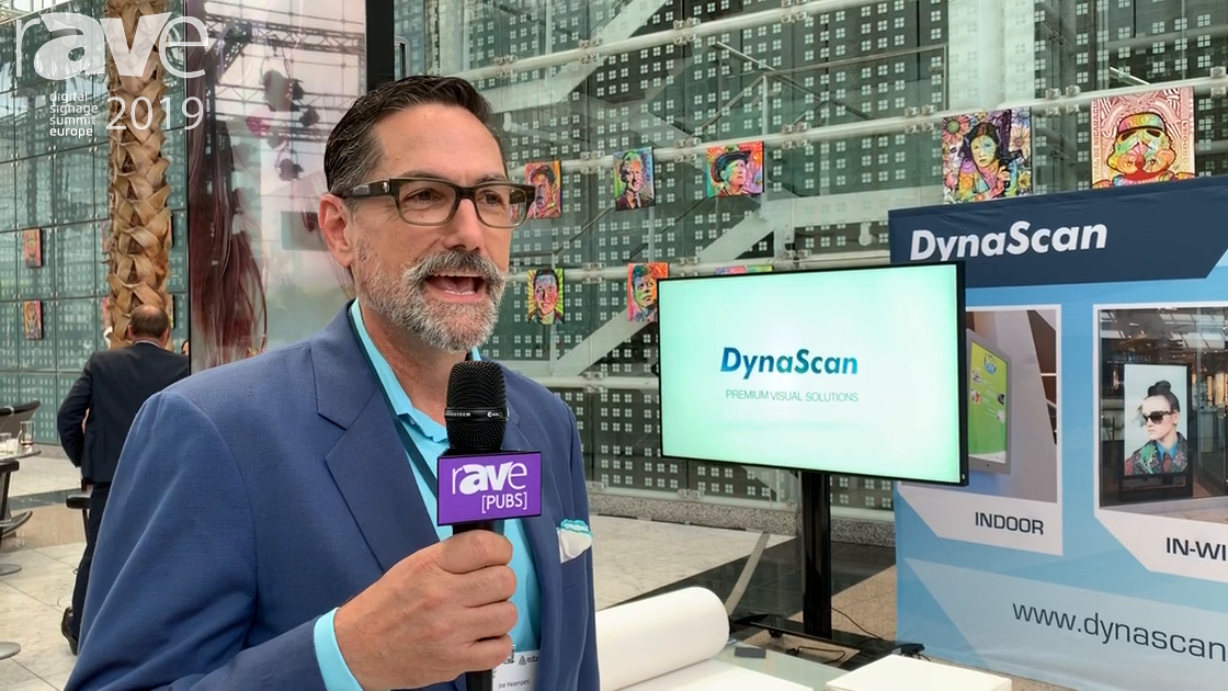 DSSE 2019: DynaScan Showcases Digital Signage Display Solutions, Including 88″ Stretch Display