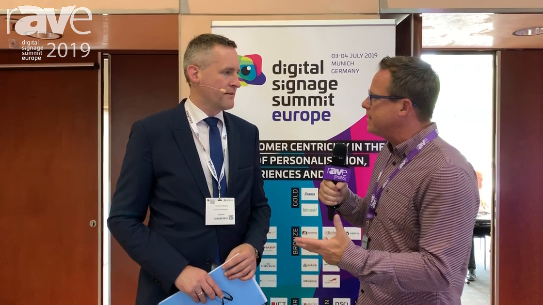 DSS Europe 2019: Gary Kayye Speaks with Florian Rotberg About the 2019 Digital Signage Summit Europe