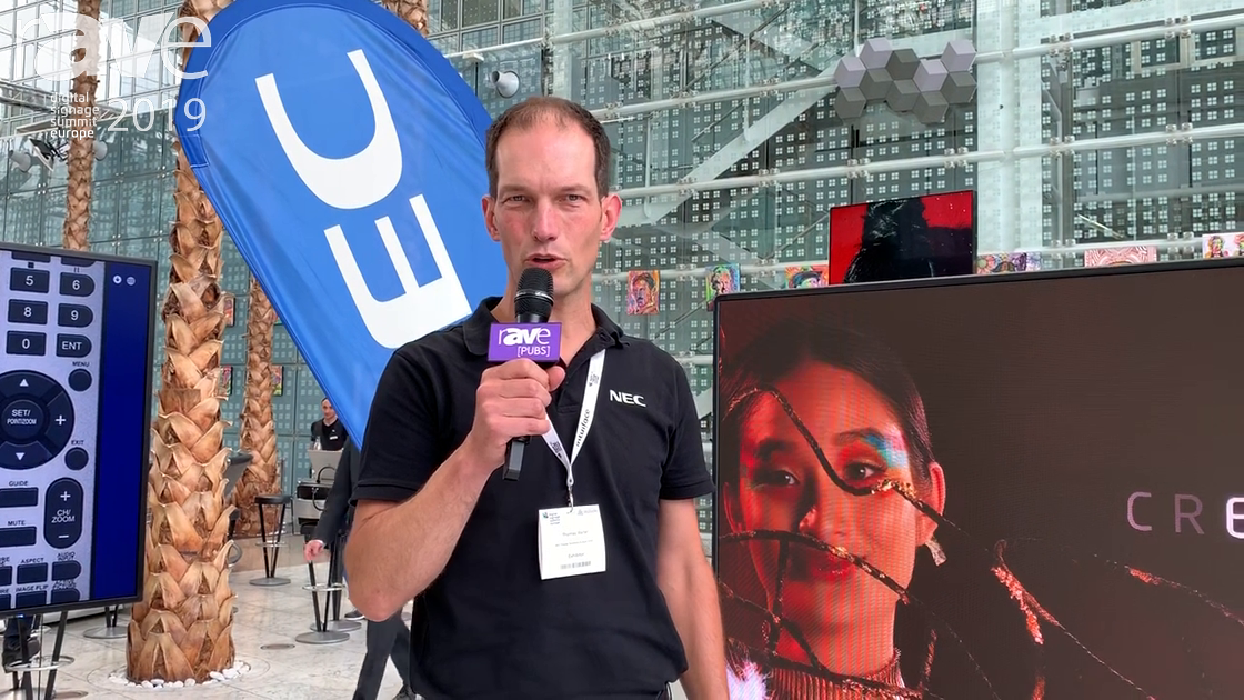 DSSE 2019: NEC Display Talks About LED Display Portfolio for Digital Signage Applications
