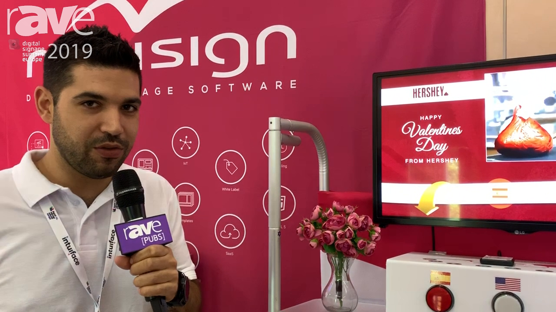 DSSE 2019: Novisign Demos Digital Experience Software Platform with IoT Demonstration