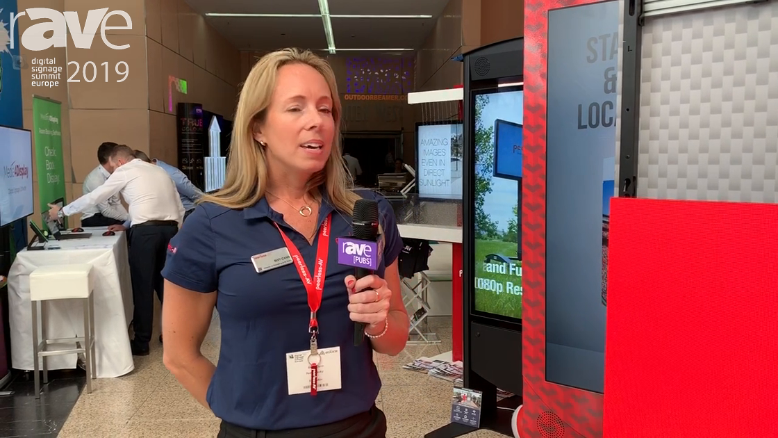 DSSE 2019: Peerless-AV Shows Samsung IF Mount, Kiosk Solutions & Xtreme High Bright Outdoor Display