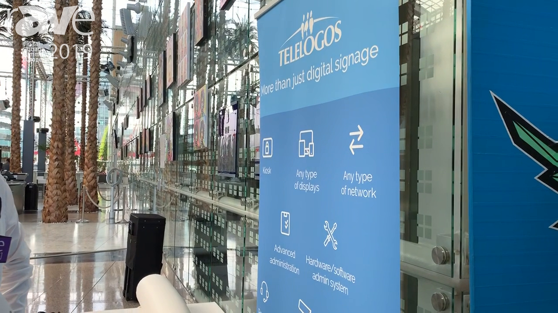 DSSE 2019: TELELOGOS Talks About Meeting4Display Room Booking Software Solution