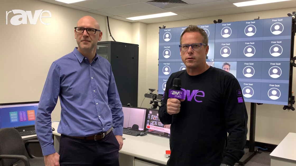 Integrate 2019: Gary Kayye Receives Demo of the Barco weConnect Platform from Craig Saunders