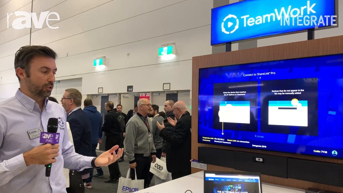 Integrate 2019: Extron Shows TeamWork Solution for Collaboration, SB 33 A Adjustable Width Soundbar