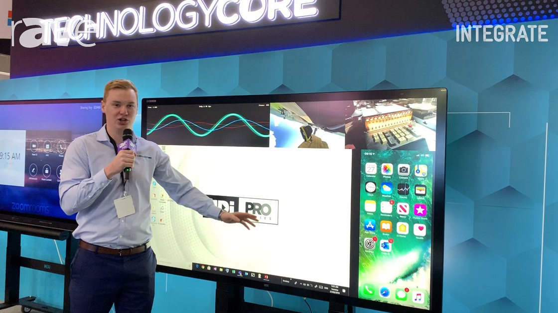 Integrate 2019: Technology Core Demos Airserver Connect Wireless Screen Mirroring