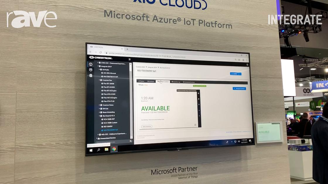 Integrate 2019: Crestron Adds Remote Control to XiO Cloud Platform