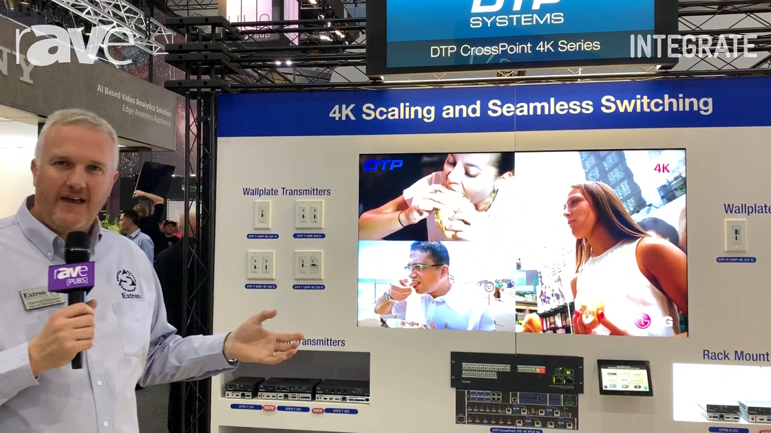 Integrate 2019: Extron Shows Off the DTP CrossPoint 4K Series of Matrix Presentation Switchers