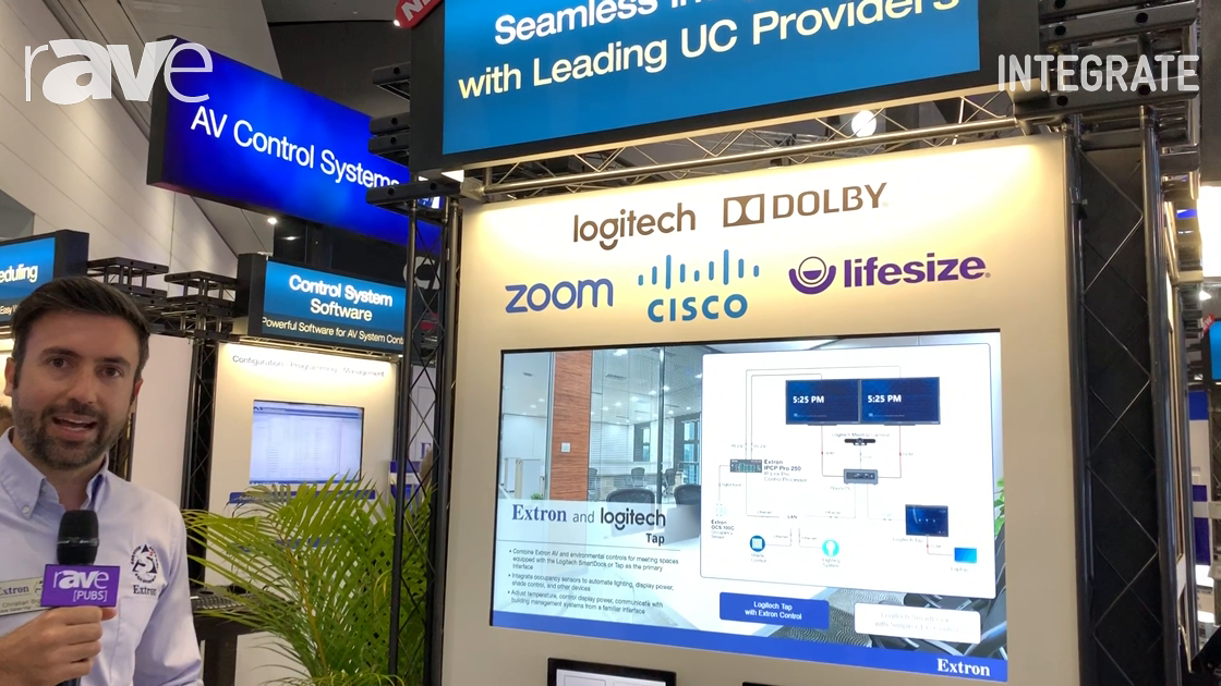 Integrate 2019: Extron Integrates With UC Providers Logitech, Zoom, Cisco, Lifesize, Dolby