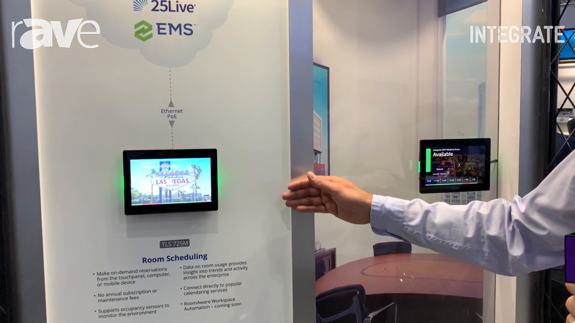 Integrate 2019: Extron Shows Off Its Room Scheduling System