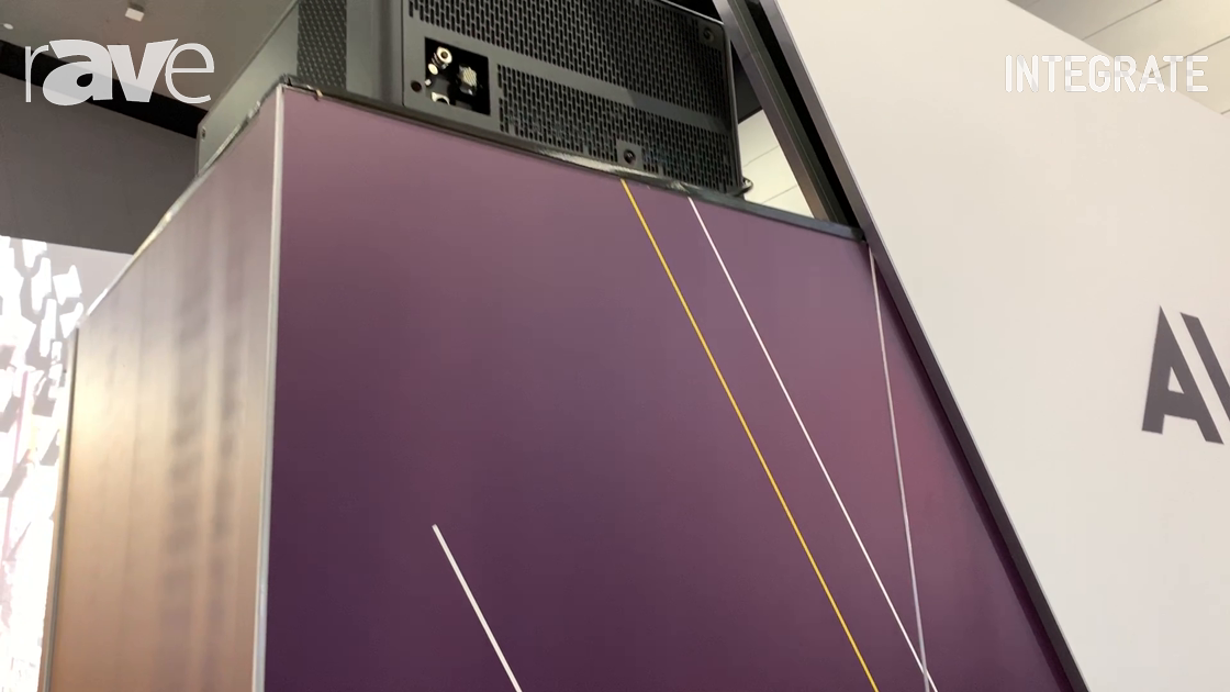 Integrate 2019: Barco Shows the 36,500-Lumen UDX-4K40 DLP Laser Projector With Projection Mapping