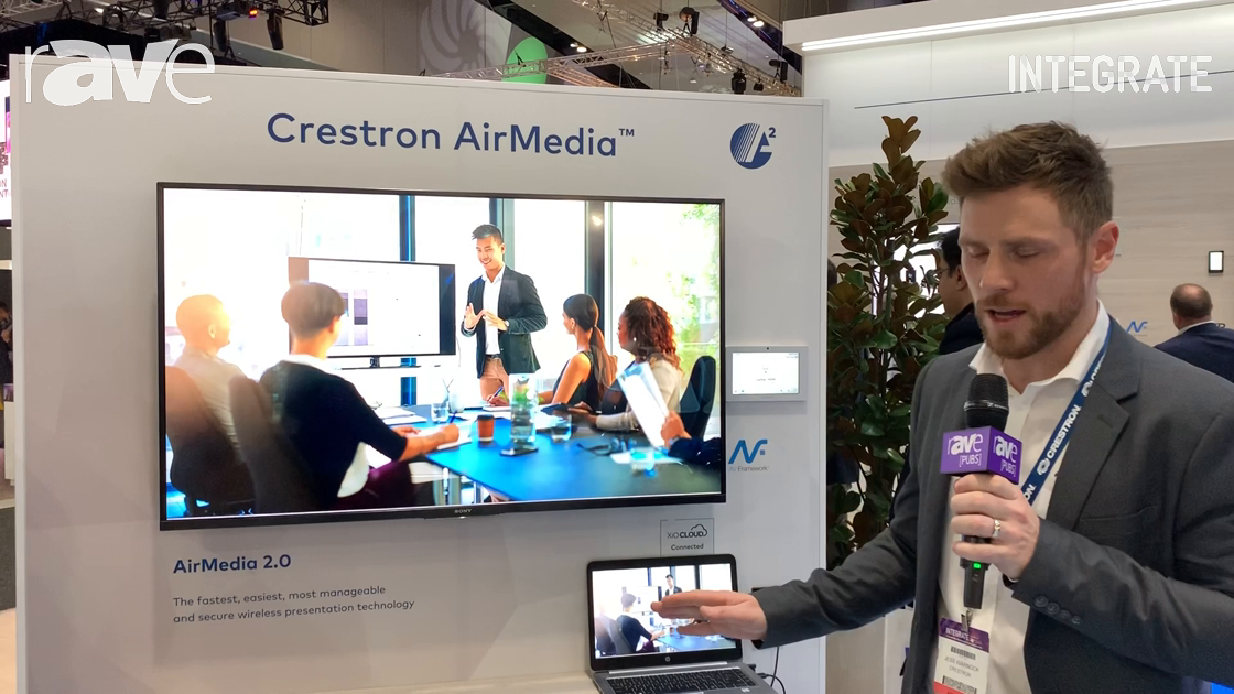 Integrate 2019: Crestron Talks About AirMedia AM-300 Media Presentation System, Now With Miracast