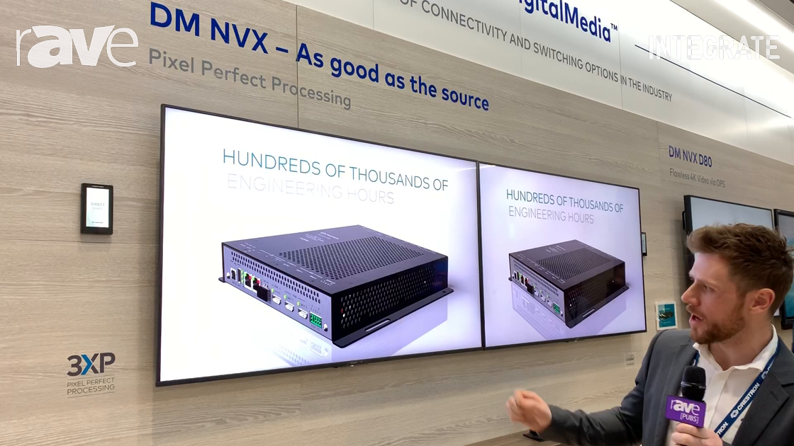 Integrate 2019: Crestron Features DM NVX 1G AV-Over-IP Solution With Pixel Perfect Processing Codec