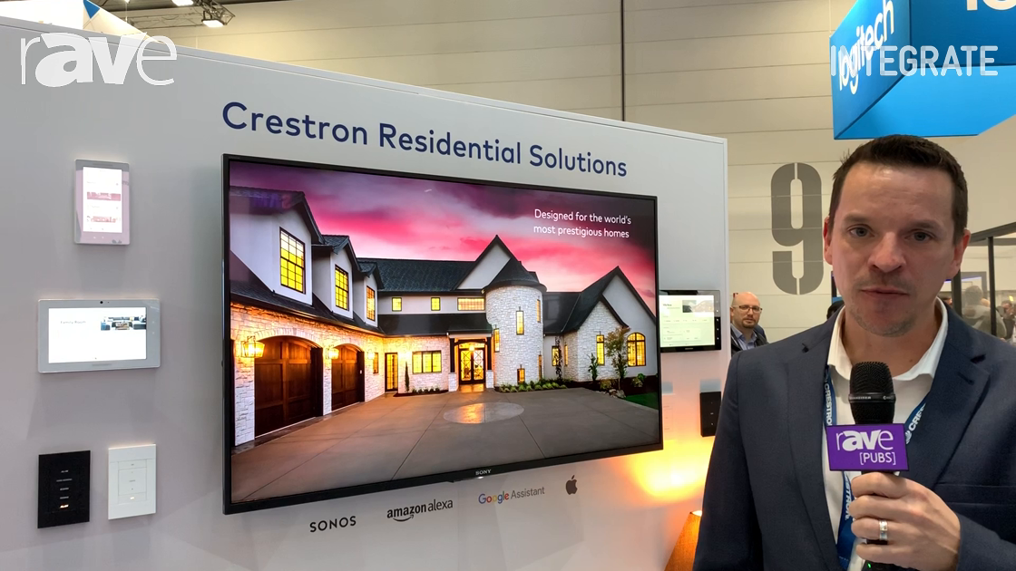 Integrate 2019: Crestron Reveals Crestron Home, a New Programming-Free Home Control Solution
