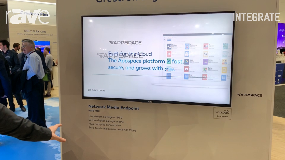 Integrate 2019: Crestron Intros the NME-100 Network Media Endpoint for Crestron Digital Signage