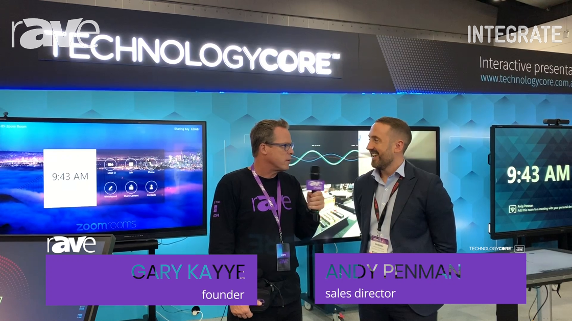 Integrate 2019: Andy Penman of Technology Core Speaks with Gary Kayye