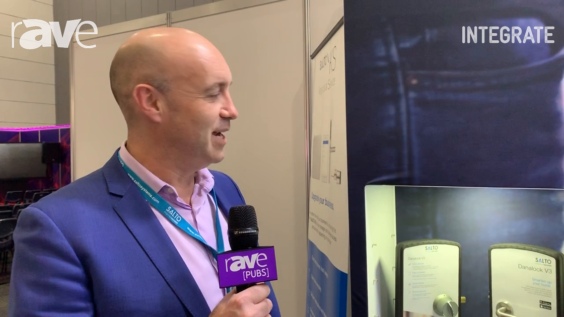 Integrate 2019: Salto Shows Residential and Commercial Network Door Access Products