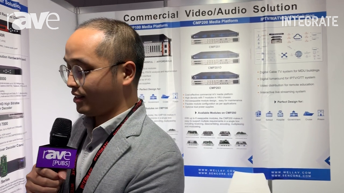Integrate 2019: Sencore Showcases the Impulse H.265 and H.265 Video Streaming Encoder With HDMI