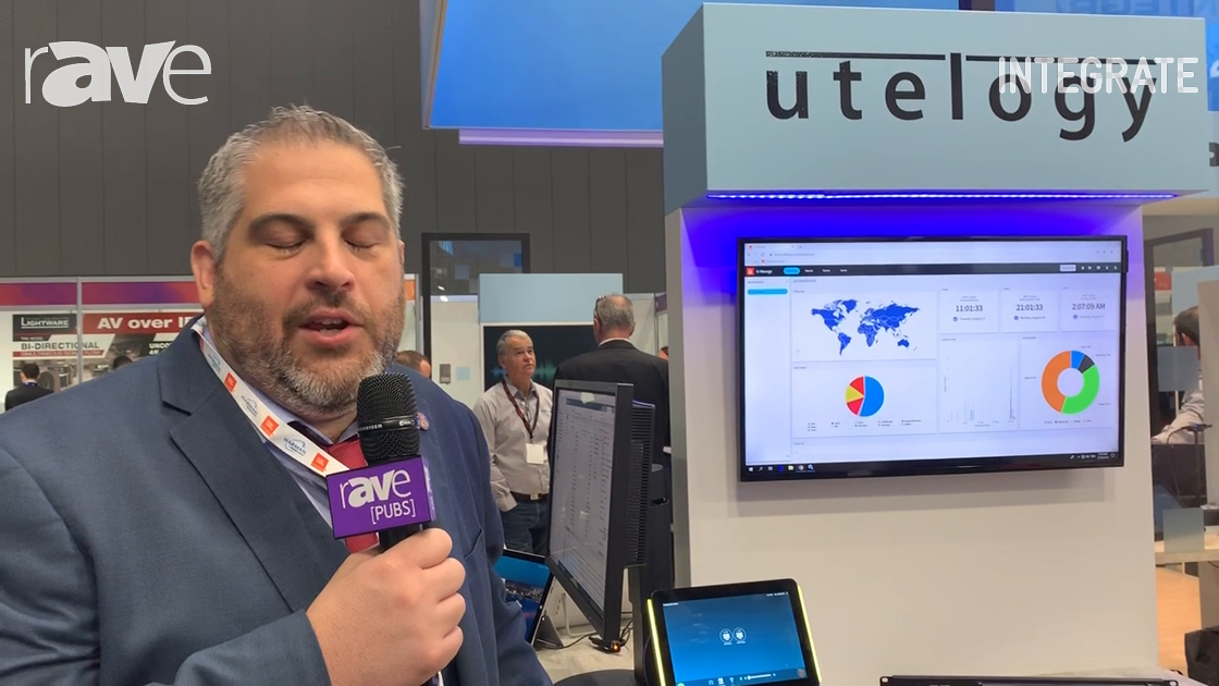 Integrate 2019: Utelogy Integrates Zoom, Microsoft Teams and Google Hangouts into Its Control Platfo