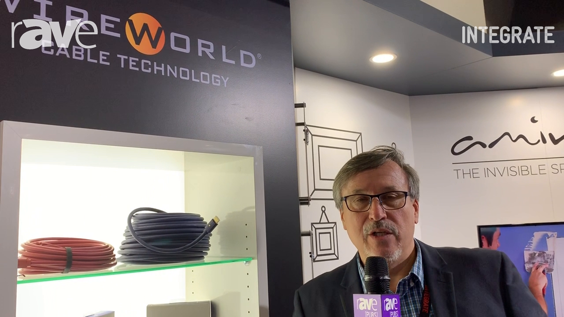 Integrate 2019: Wireworld Cable Shows High-End Home Theatre Cable Lineup on Canohm Australia Stand