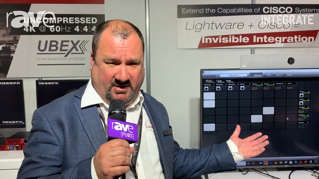 Integrate 2019: Lightware Talks About Its Integration Into the Cisco UCC Room Kit