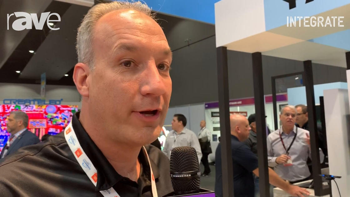 Integrate 2019: Mimo Monitors Intros New Touch Displays Including Haptic Touch Display in AVT Stand