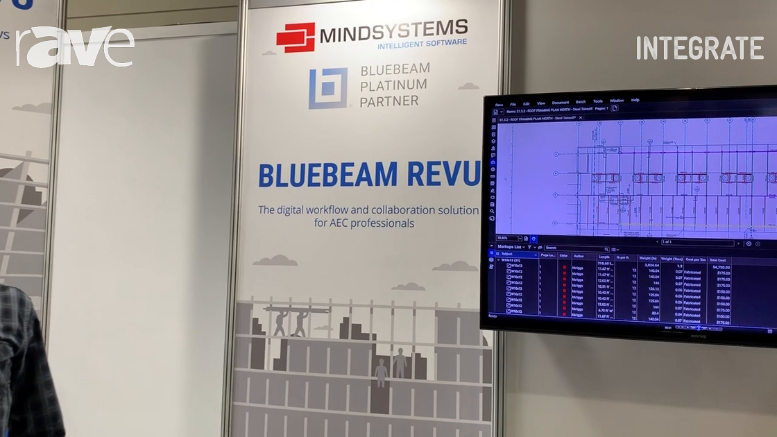Integrate 2019: Mindsystems Demos Bluebeam Revu Software for PDF Markup and Measurement
