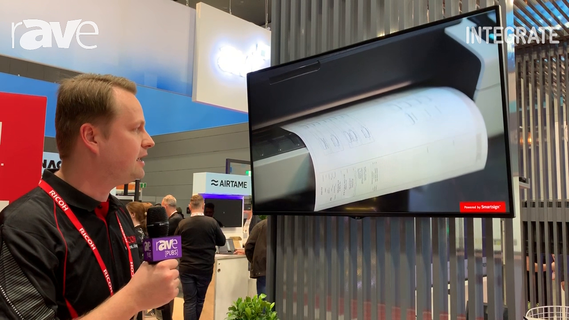 Integrate 2019: Ricoh Previews Cloud-Based Digital Signage Solution Powered by SmartSign