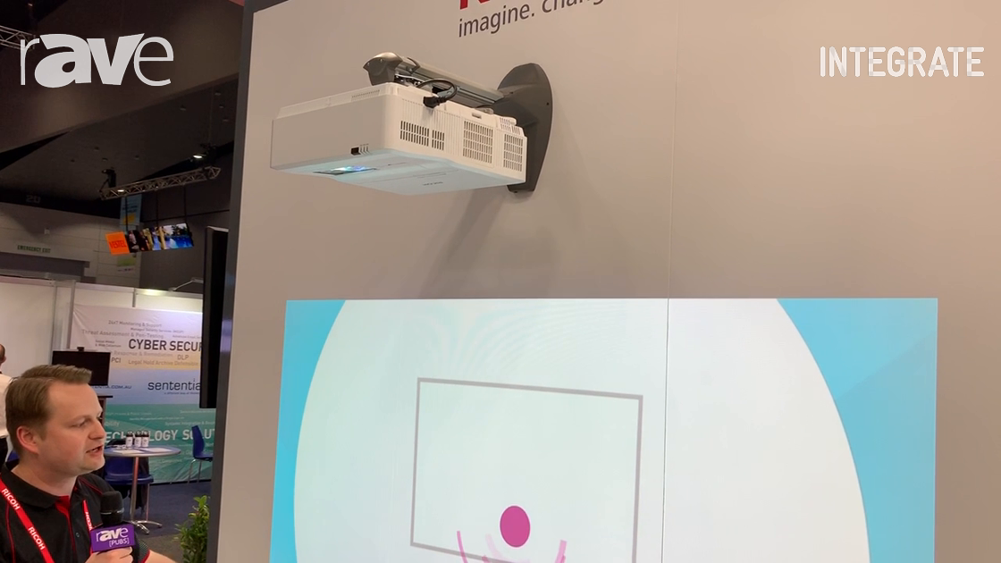 Integrate 2019: Ricoh Talks About Various Applications for Ultra Short Throw LED Projectors