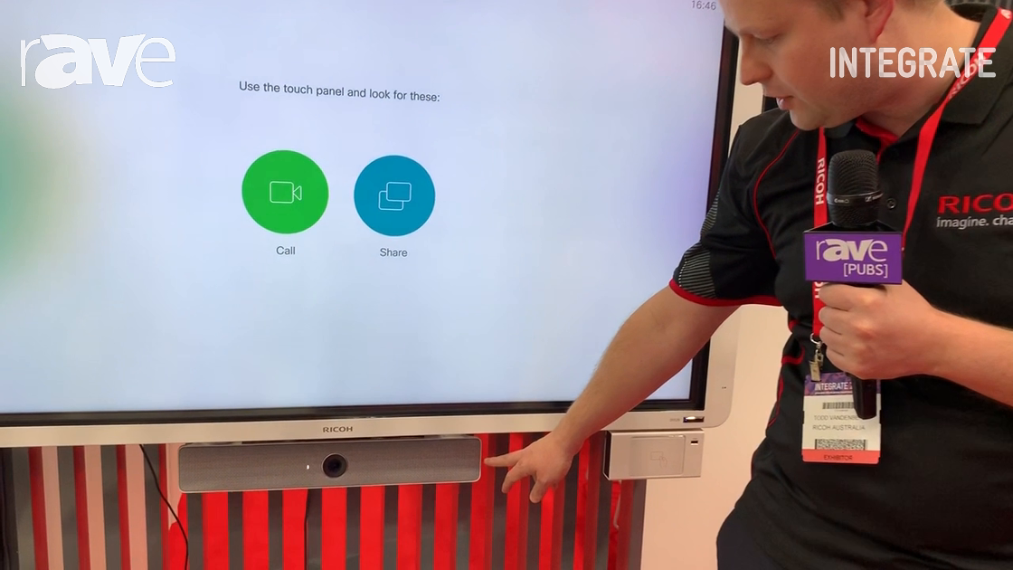 Integrate 2019: Ricoh Talks Integration with Cisco Webex Mini Room Kit for Interactive Displays