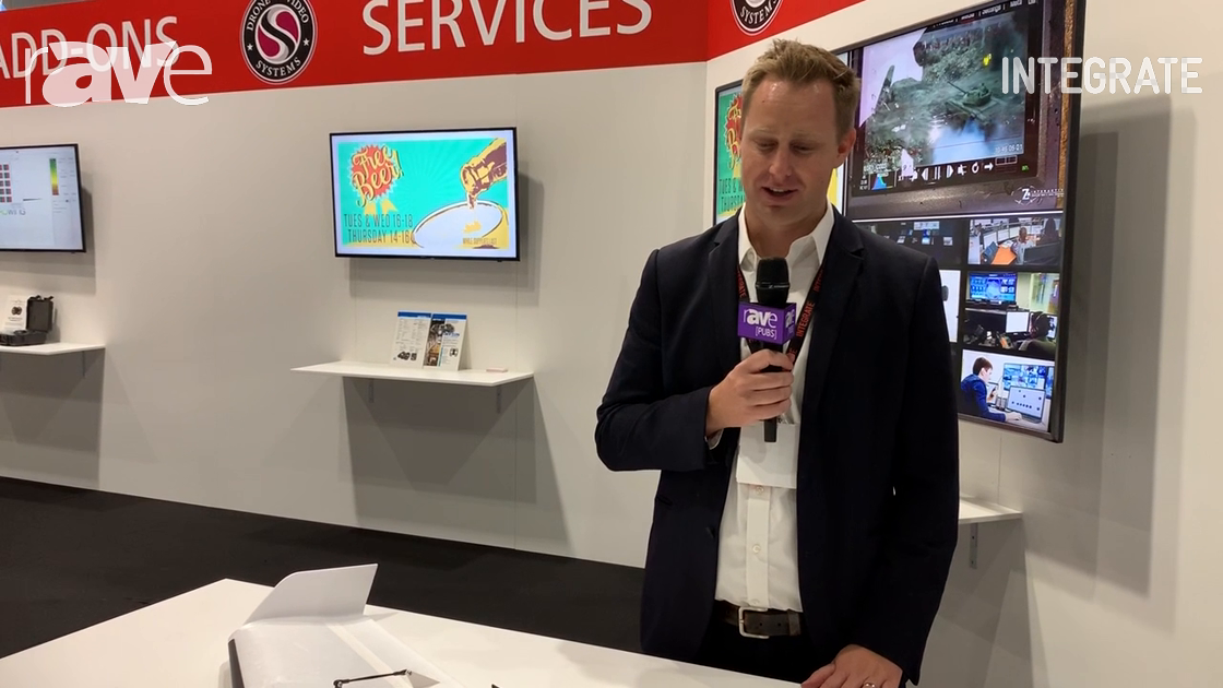 Integrate 2019: Delair Presents UX11 Fixed-Wing Mapping Drone on Exertis Stand