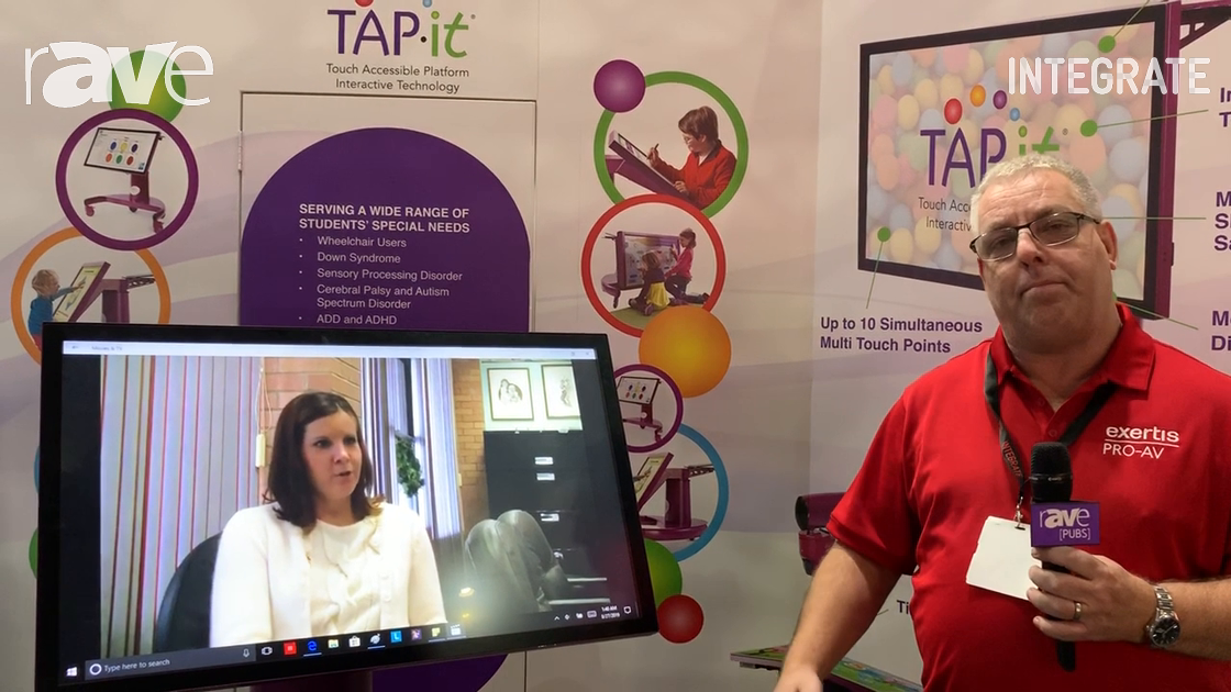 Integrate 2019: Exertis Presents TAP-it Touch Technology for Special Needs Classrooms