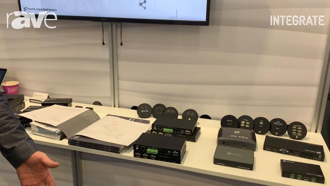 Integrate 2019: TechLogix Network Presents Share-Me SMC3 AV-Over-IP System