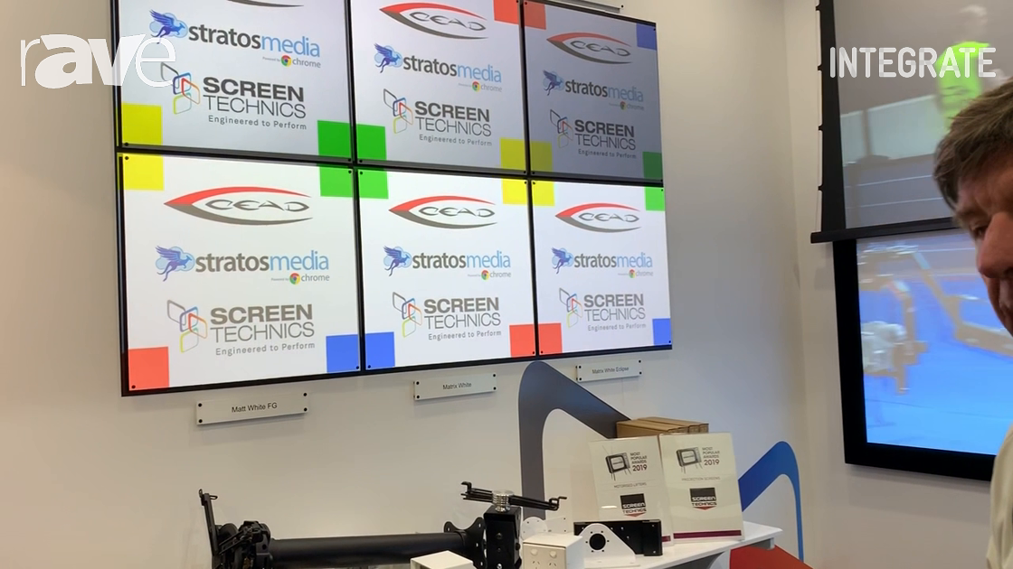 Integrate 2019: Screen Technics Talks About Its Grey Projection Screen Solutions