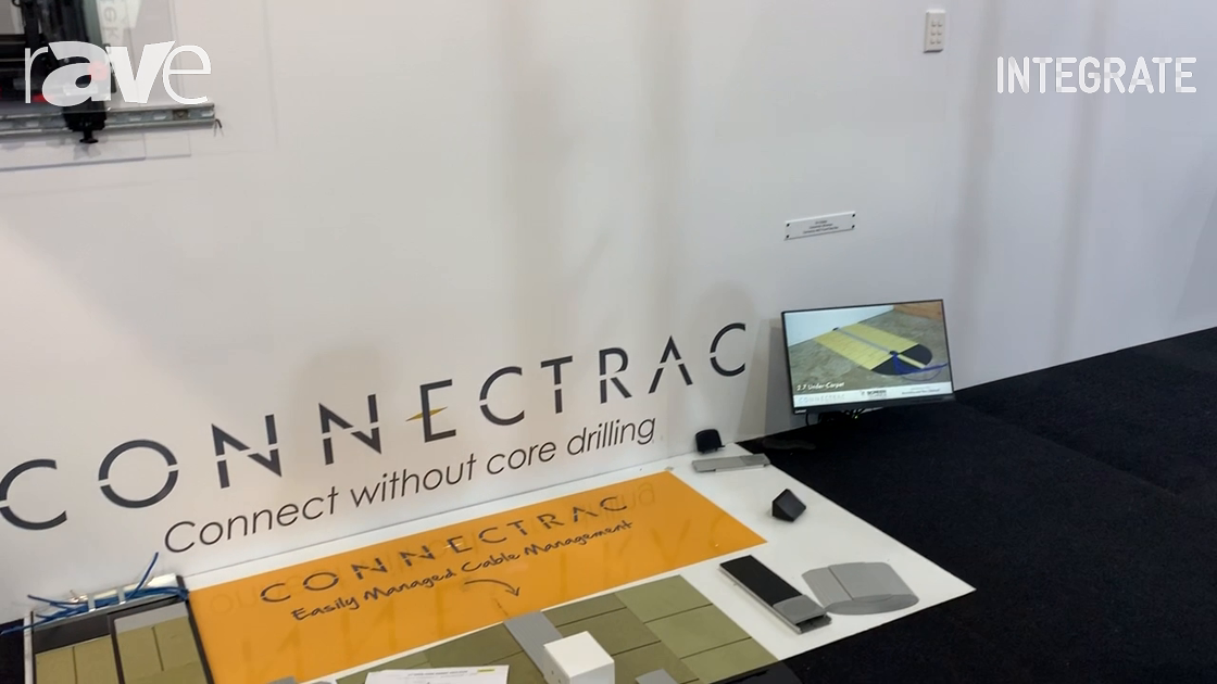 Integrate 2019: Screen Technics Shows Connectrac Cable Management System