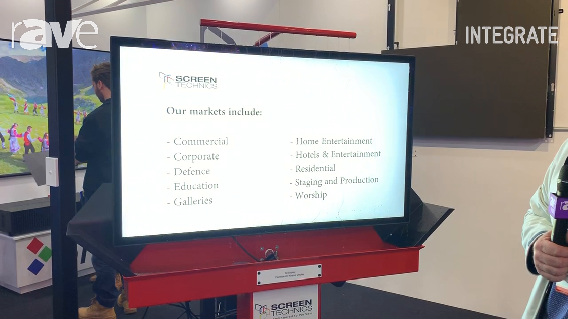 Integrate 2019: Screen Technics Shows IP68 Peerless-AV Xtreme Outdoor Display With Optical Bonding