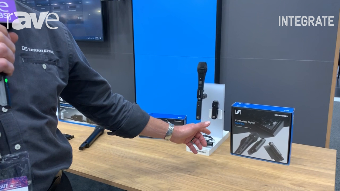Integrate 2019: Sennheiser Introduces XS Wireless Digital Plug-and-Play Wireless Microphone System