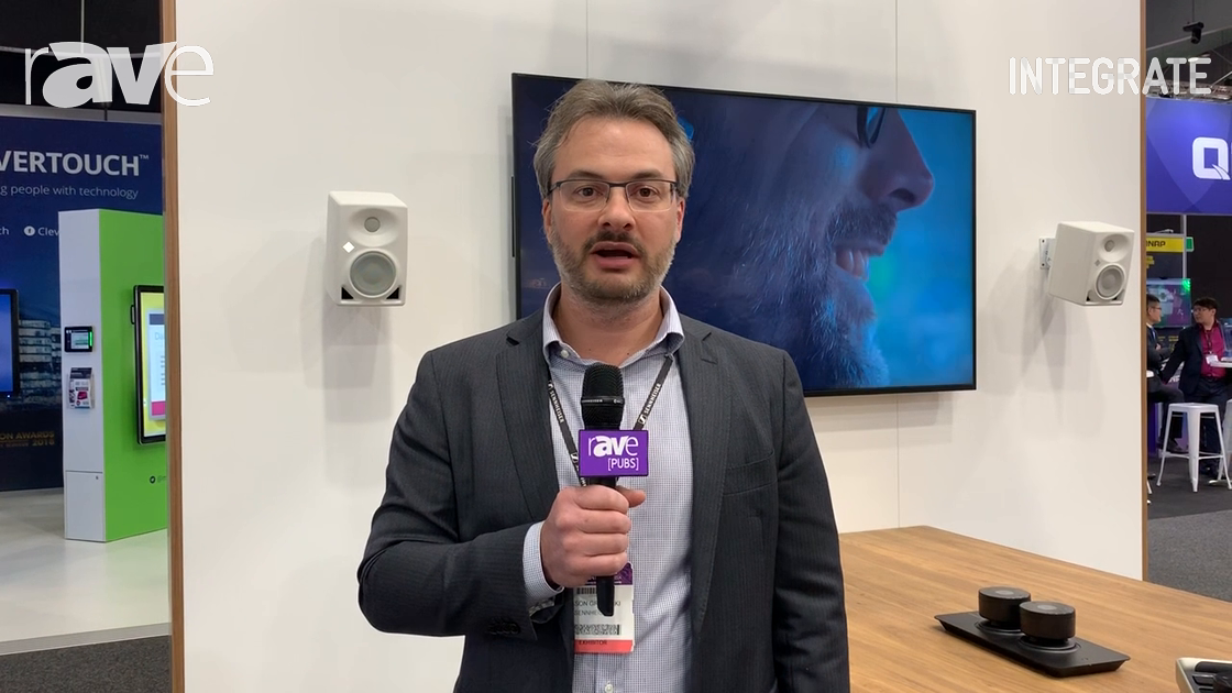 Integrate 2019: Sennheiser Shows Off TeamConnect Ceiling 2 Beamforming Array Microphone
