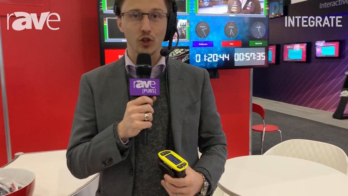 Integrate 2019: Riedel Communications Talks About Bolero Wireless Intercom System