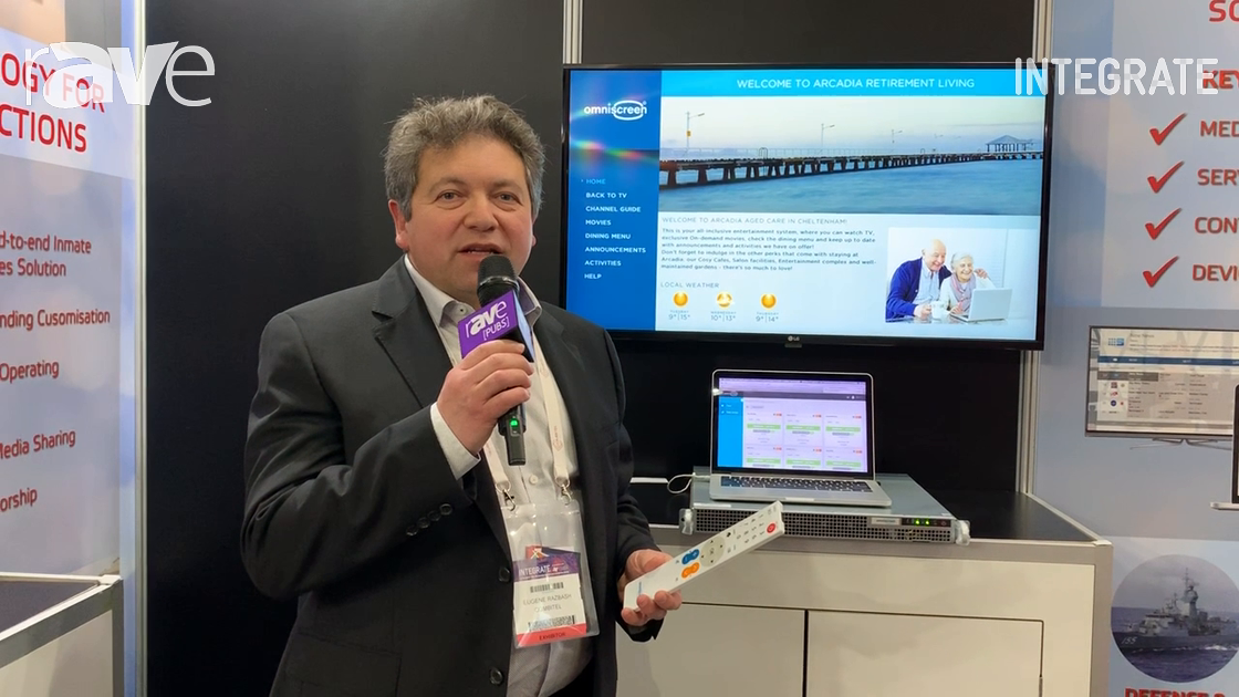 Integrate 2019: CombiTel Introduces Remote Control for OmniScreen Hospitality/Hospital Applications